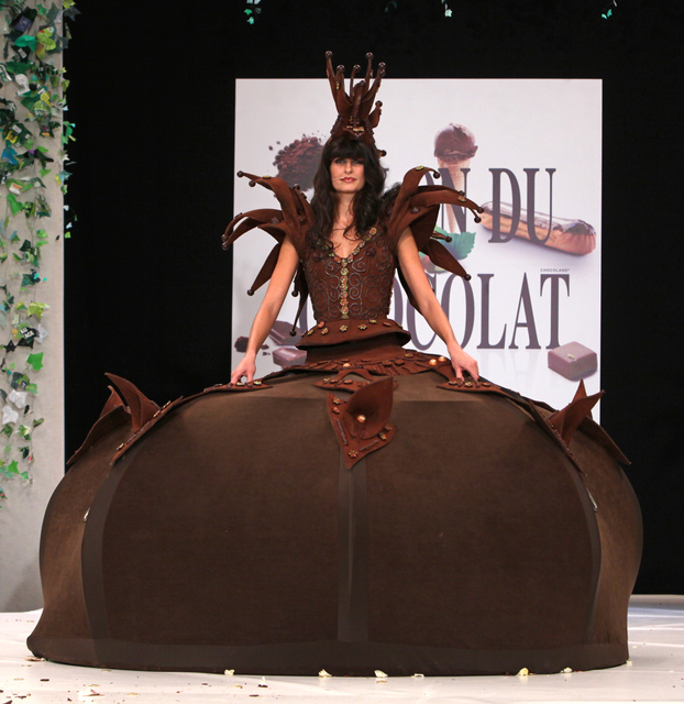Paris Chocolate Fashion Show